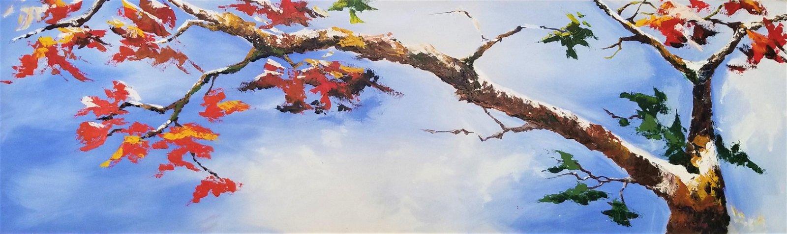 Original Acrylic Painting On Canvas Patricia Uribe