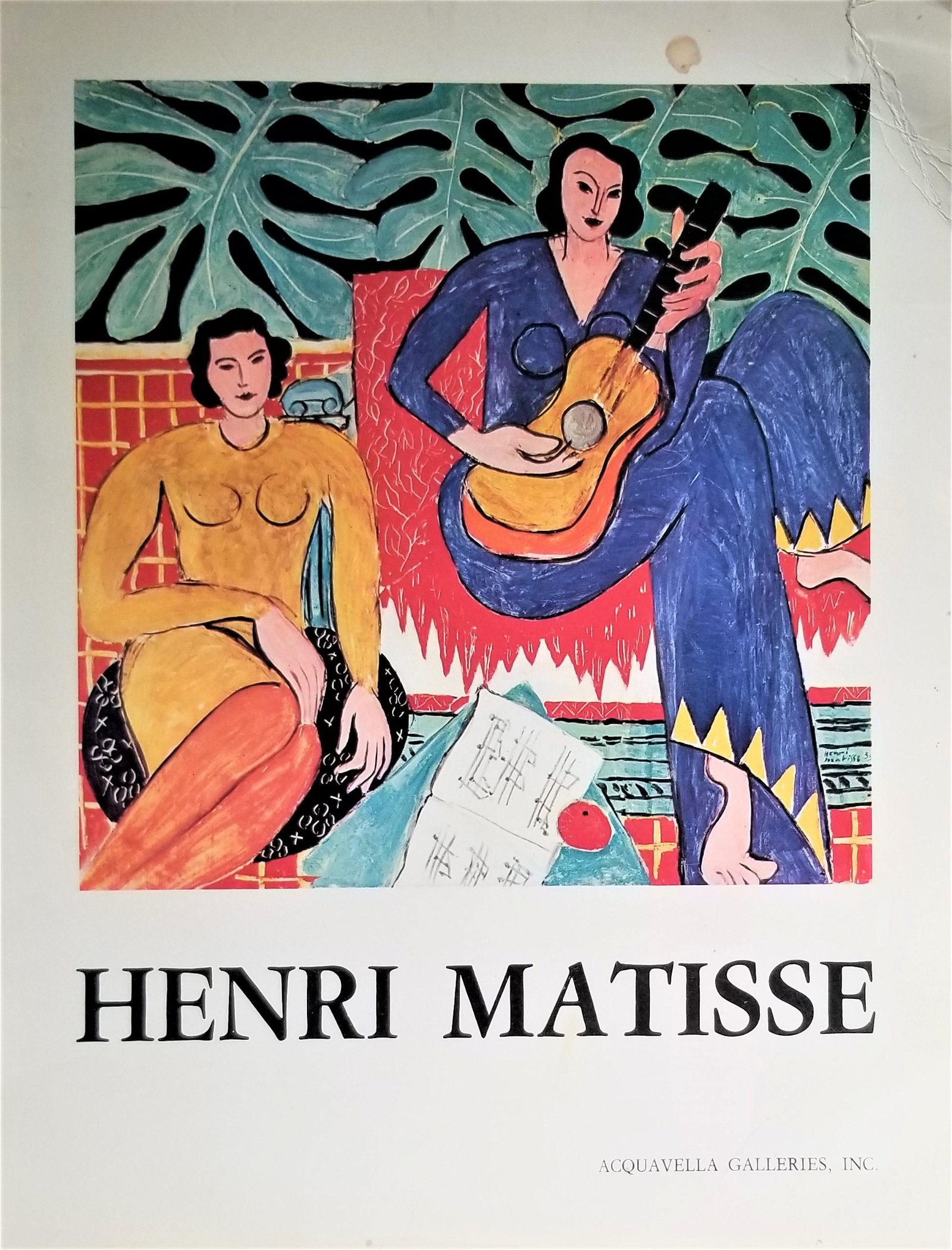 Vintage MATISSE Art Book