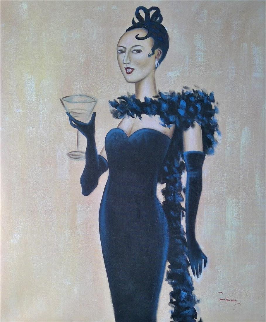 Original Acrylic Painting On Canvas.