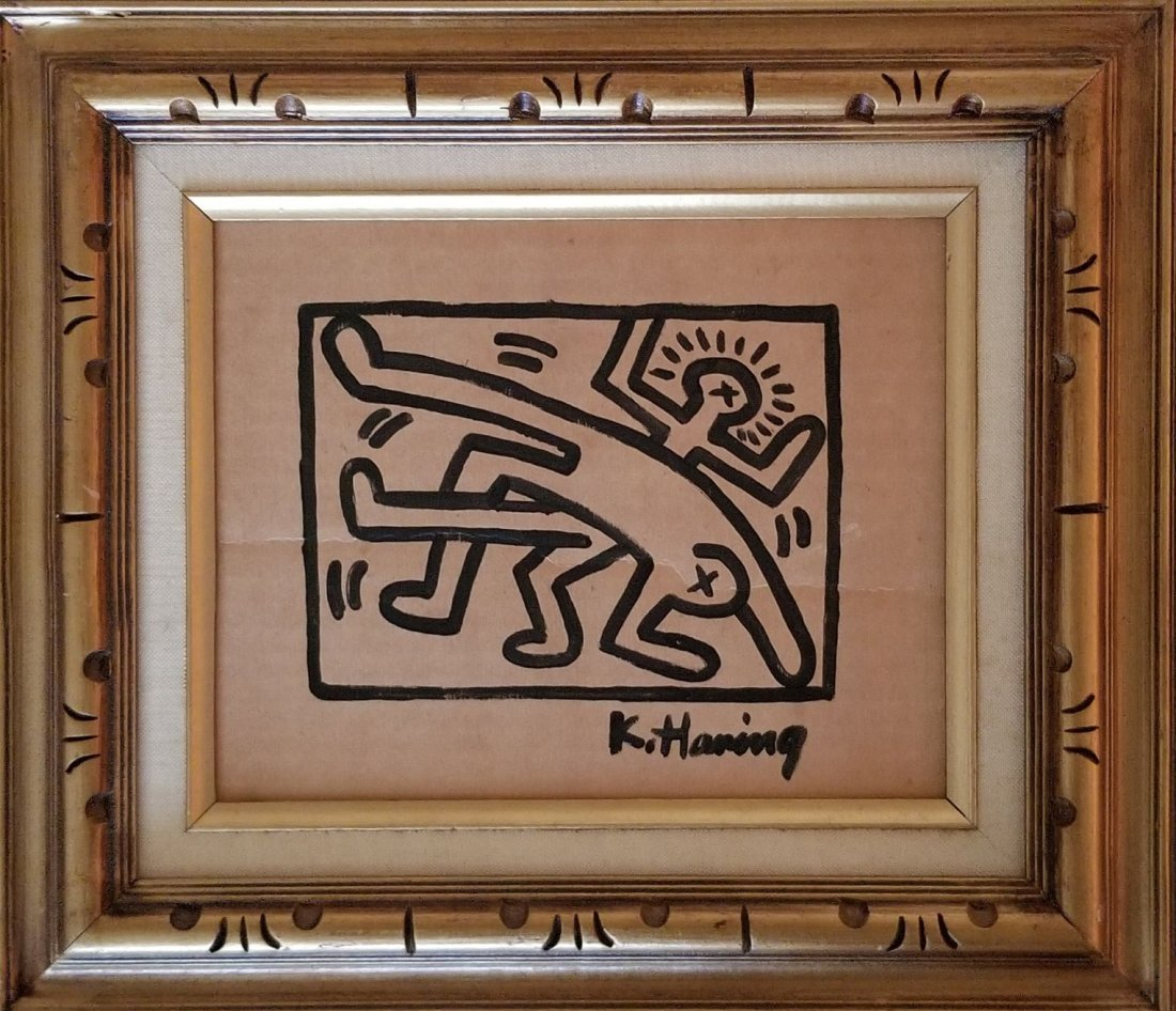 Keith Haring Painting New York Collection