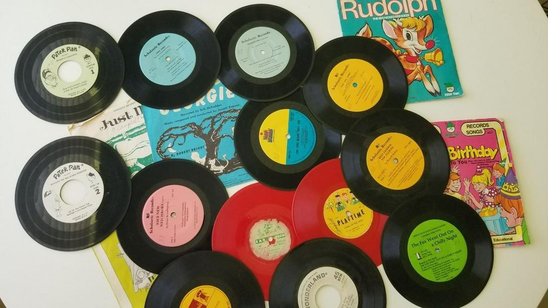 Set of Vintage Vinyl Records