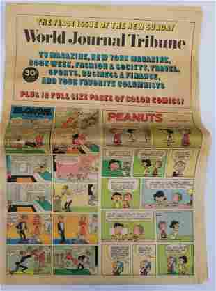 Vintage World Journal Tribute Newspaper