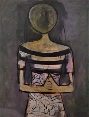 Wilfredo Lam Woman Art Print