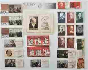 Vintage Collection 28 VILENIN Stamps