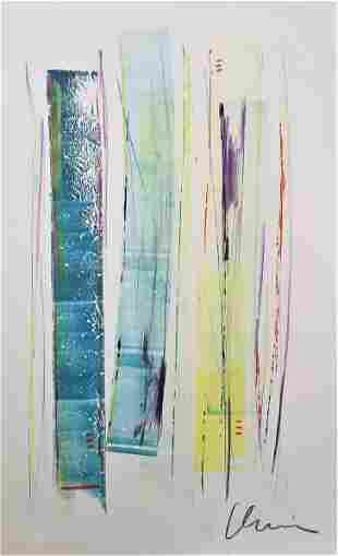 Original Abstract Paiting Signed