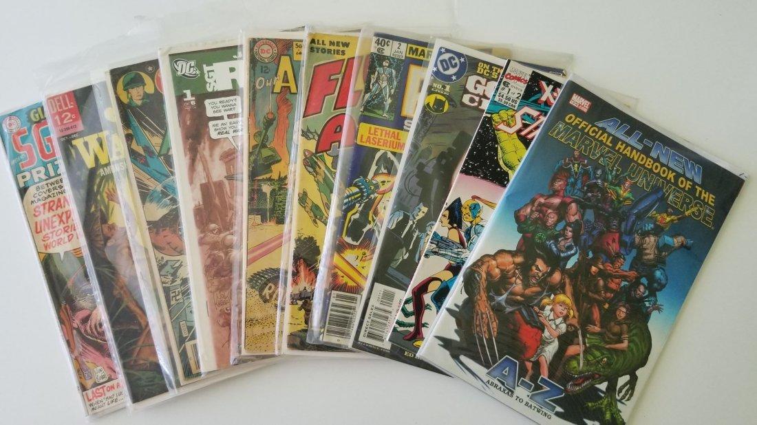 Set of 10 Vintage Marvel Comics