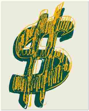 Andy Warhol, Dollar Signs