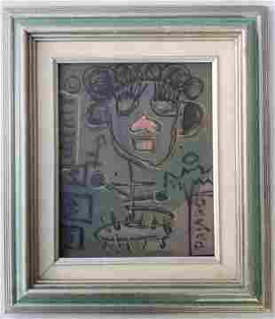 Jean-Michel Basquiat Painting