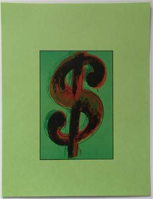 Andy Warhol New York Vintage Print.