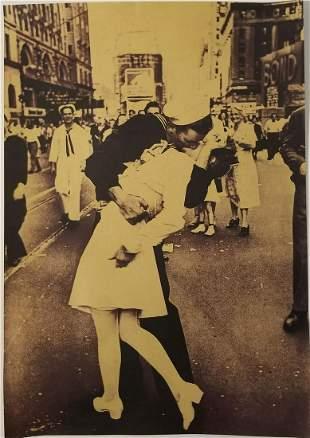 V-J Day The Kiss Poster Print Size