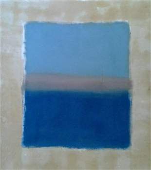 Mark Rothko Abstract Painting in the manner of
