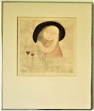 Eng Tay. Limited Edition Lithograph Signed.