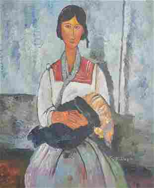 Amedeo Modigliani Oil Painting on Canvas