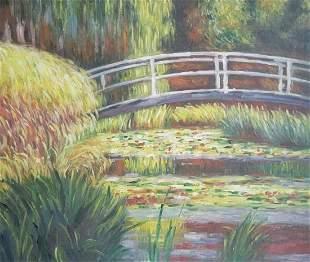 Claude Monet Oil Painting on Canvas