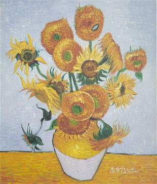 Van Gogh Oil Painting on Canvas