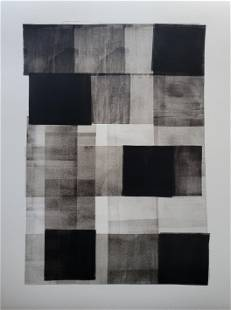 Abstract Modern Painting on Paper