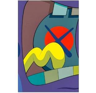 Kaws, Fine art print. 'Untitled'