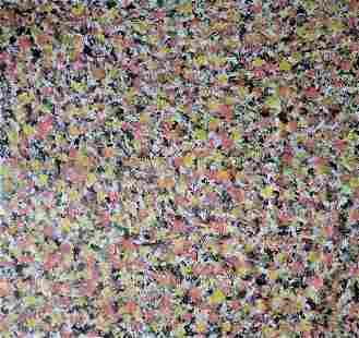 """60 x 65"""" Original Contemporary Acrylic Painting"""