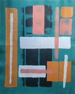 "35 x 40"" Original Contemporary Painting on Canvas"