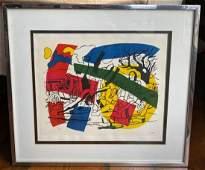 FERNAND LEGER Artist's Proof Silk Screen