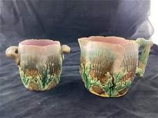 Majolica Etruscan cups