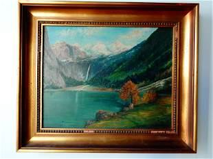 OSCAR BRONNER - Oil on Canvas