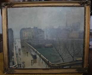 Paul De Castro Original oil on canvas painting