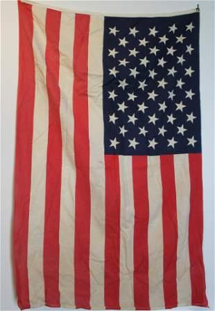 American flag 50 star Vintage