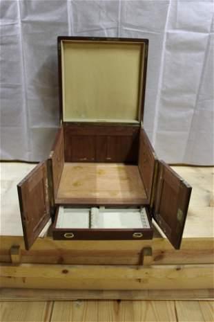 Tiffany & Co. Silversmiths LARGE Oak Flatware box
