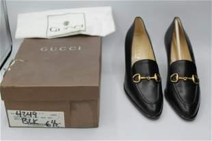 Gucci Women's Leather Shoes - Scarpa Elegante Pelle