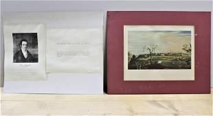 View of Natchez, John James Audobon - 1822