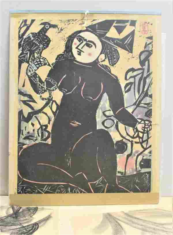 Portfolio Of 5 Abtstract Figure Sketches