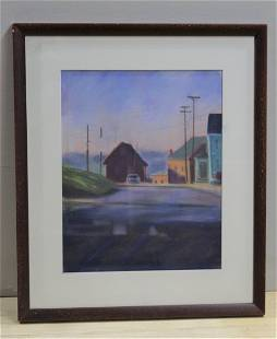 """""""Road to Essex"""" Pastel Painting by Susan Guest-Mcphail"""