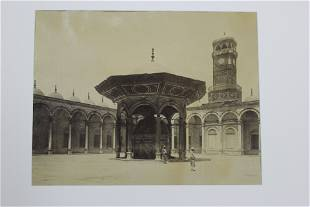 Jean Pascal Sebah Photograph - Mosque Mohammed