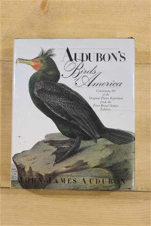 John James Audubon Birds of America Book