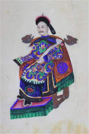 Extremely Rare Portfolio Of 12 Chinese Paintings