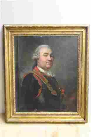Circle of Joseph Ducreux - Portrait of a Gentleman