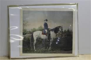 Confederate General Robert E. Lee on Traveler -