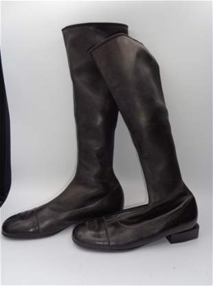 Chanel Soft Leather Boots