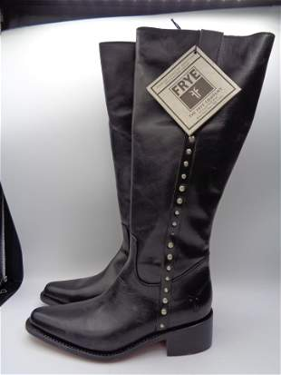 Vintage Rare Leather Knee High FRYE Boots