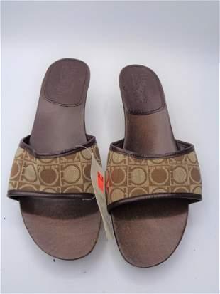 Ferragamo Wooden Heeled Sandals