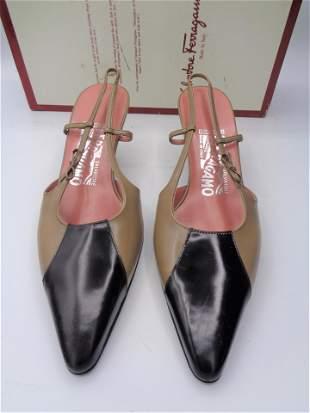 Ferragamo Leather Heeled Sandals