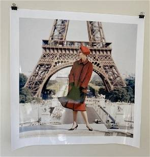 Norman Parkinson Extra Large Photograph Listed