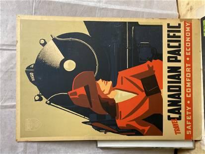 Peter Maxwell EWART Canadian Pacific Vintage Print