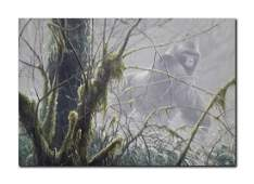 "Robert Bateman's ""Intrusion- Mountain Gorilla"" Limited"