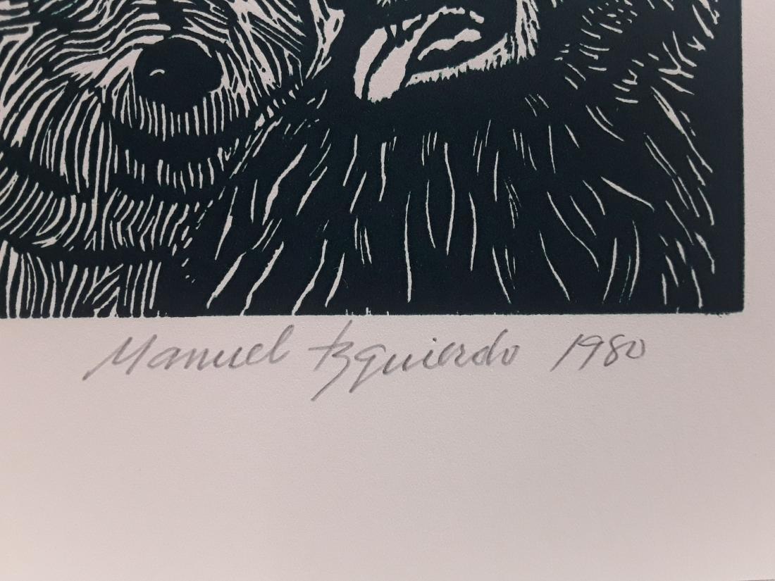 """Manuel Izquierdo's """"Night Festival, Green"""" Limited - 3"""