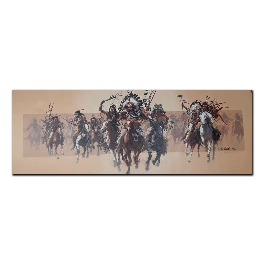 "Bev Doolittle's ""Beyond Negotiations"" Limited Edition"