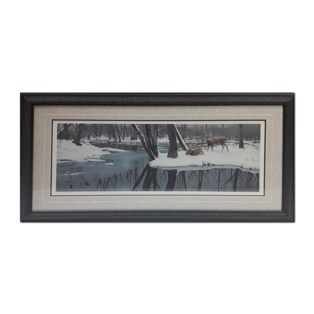 "Daniel Smith's ""Winter Whites"" Limited Edition Framed"