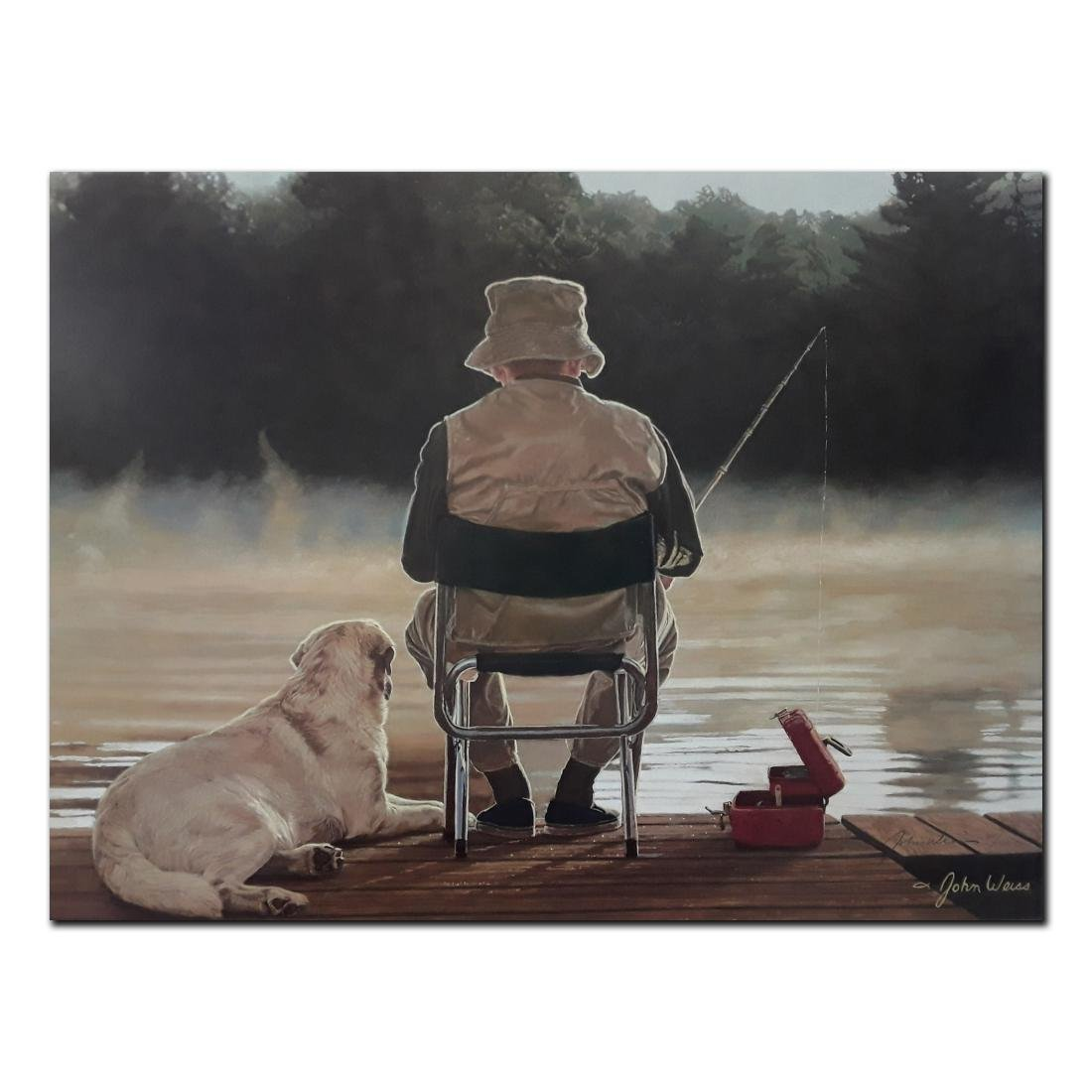 """John Weiss' """"Making Memories"""" limited edition print"""