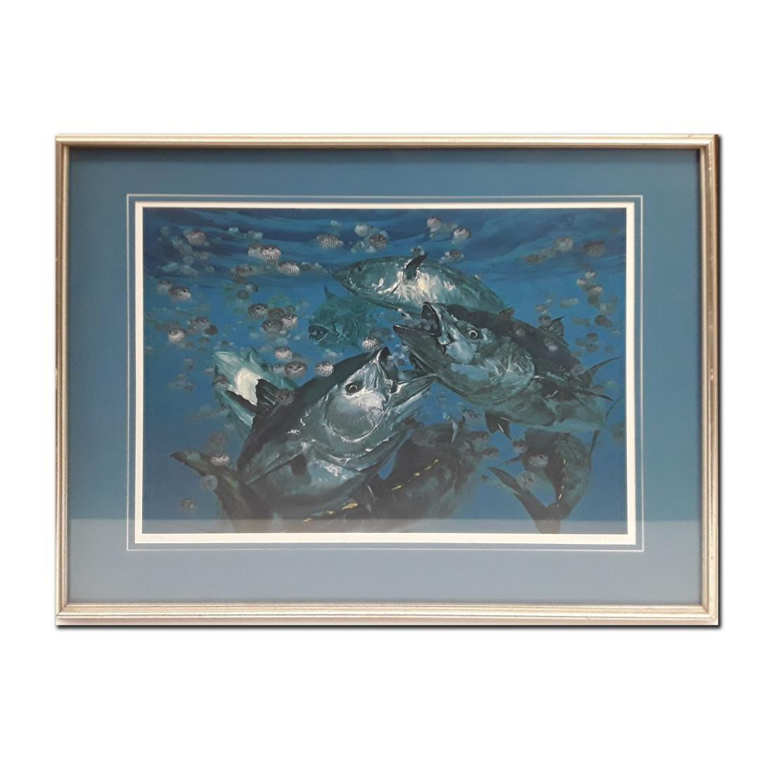 Stanley limited edition framed print